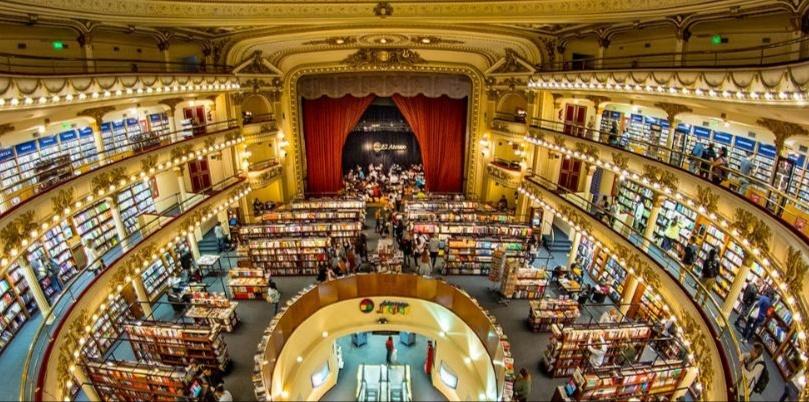 Librería el Ateneo, Argentina. Stock Energético